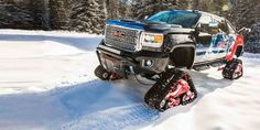 GMC Sierra 2500HD All Mountain concept, lista para el invierno - http://autoproyecto.com/2017/11/gmc-sierra.html?utm_source=PN&utm_medium=Pinterest+AP&utm_campaign=SNAP