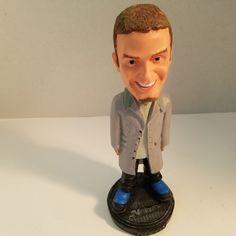 "NSYNC 2001 Justin Timberlake Bobblehead 1990's Boy Band 8 1/4"""