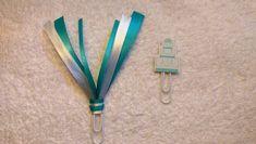 Blue/White Wedding Cake Ribbon Paperclip Set - Planner/Journal/Bookmark - Erin Condren, Kikki K, Happy Planner
