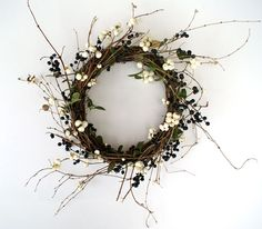 The House That Lars Built.: 13th day of Christmas Crafts: berries & wreaths