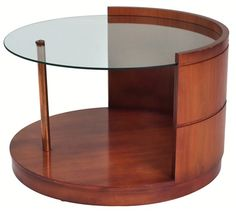 Gilbert Rohde Side Table For Herman Miller 1939 Barrel Table