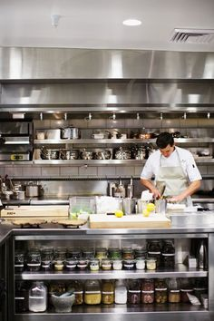 All cooks' dream realized in the new #kitchen at Meadowood…