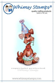 Cupcake Bliss | Whimsy Stamps