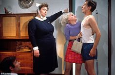 Jim Dale, Hattie Jacques, Barbara Windsor and Kenneth Williams. Carry On Doctor. 1967