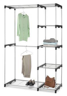 Closet organization, http://www.organize.com/double-rod-closet.html