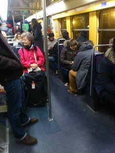 Dans croise tout le monde dans le métro !