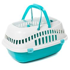 No matter what kind of super spiffy pet products you need, we've got you covered.  Here we have: a small critter carrier!