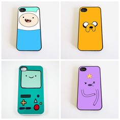 Adventuretime Iphone Cases.  My kids would love these!
