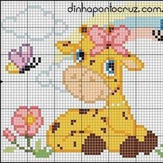 Cross Stitch Borders, Cross Stitch Animals, Counted Cross Stitch Patterns, Cross Stitch Designs, Chocolate Sculptures, Plastic Canvas Patterns, Knitting Patterns Free, Needlepoint, Needlework