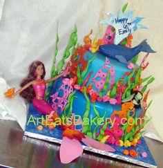 barbie cake- could be a mermaid cake