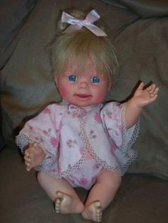 VINTAGE 1965 MATTEL CHEERFUL TEARFUL DOLL. Had her washed her hair in bathroom sink, never looked the same again. I loved the noise she made when she  cried. I had this Doll when I was little, I'm looking for one to buy!