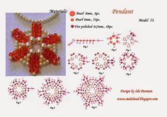 beadwork step by step. MalaBead: Model 53.
