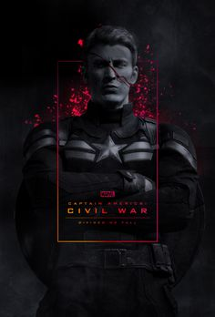 Civil war capitán América - Visit to grab an amazing super hero shirt now on sal Sports Graphic Design, Graphic Design Posters, Graphic Design Inspiration, Graphisches Design, Layout Design, Photomontage, Creative Posters, Photoshop Design, Social Media Design