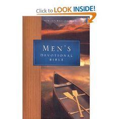 NIV Men's Devotional Bible: New International Version: Zondervan: 0025986915858: Amazon.com: Books