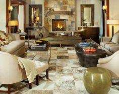 Four Seasons Living Room -- Contemporary, Denver, CO