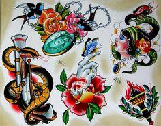sparrow flash tattoo - Google Search