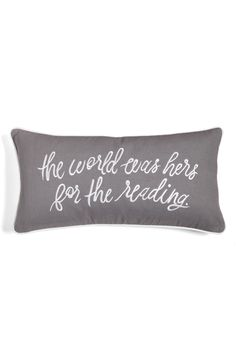 Main Image - kate spade new york the world was hers accent pillow