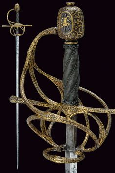 SWORDS, RAPIERS provenance: North Italy dating: late 16th Century