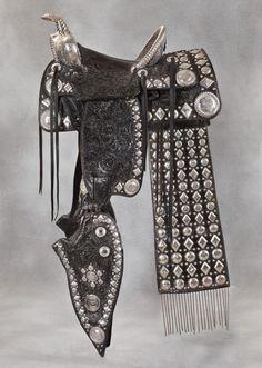 Bohlin parade saddle. Ham Johns model  Brian Lebel's Old West Show & Auction  www.denveroldwest.com