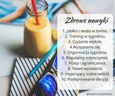 10 nawyków, które mają szczupłe i zdrowe osoby #fit #healthy #body #diet #weightloss #selfdevelopment #happy #inspiration #change #power