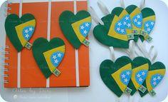 Marcadores de páginas Brasil