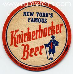 Knickerbocker Beer Coaster