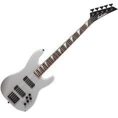 Jackson David Ellefson CBX V Quicksilver The Jackson David Ellefson CBX V is a 5-string bass guitar featuring EMG pick-ups 3-band EQ high mass bridge and bolt-on neck construction. David Ellefson is the bassist of the band Megadeth and is re http://www.MightGet.com/january-2017-11/jackson-david-ellefson-cbx-v-quicksilver.asp