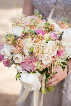 Whimsical, Romantic Bridal Bouquet