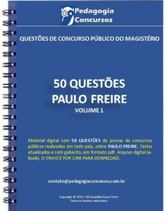 50 Questões sobre Paulo Freire