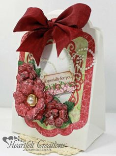 Heartfelt Creations | Arianna Blooms Gift Bag