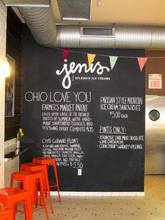Jeni's Splendid Ice Creams | Columbus, Ohio (there is one 3 minutes from my house and I'm so addicted!)