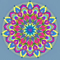 """See Mandala 229 for this coloring page on my other board """"Mandala Coloring Pages."""""""