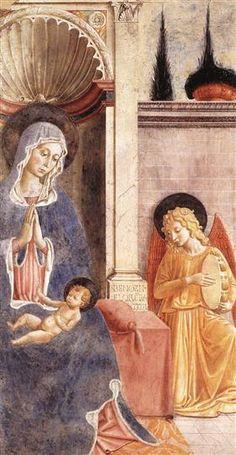 Madonna and Child (detail) - Benozzo Gozzoli