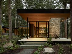 Ideas Terraza, Tyni House, Open Architecture, House In Nature, Historic Properties, Forest House, Mid Century House, Interior Design Studio, Modern Farmhouse