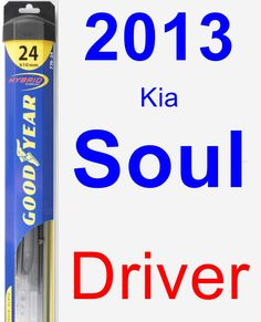 Passenger Wiper Blade for 2014 Kia Soul - Hybrid | Products and ...