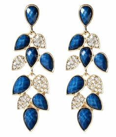 Brand New Amrita Singh Lapis Blue Milly Earrings ERC 1655 | eBay