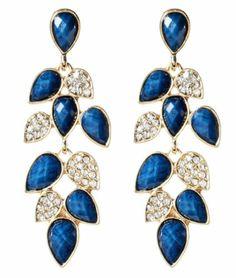 Brand New Amrita Singh Lapis Blue Milly Earrings ERC 1655 | eBay