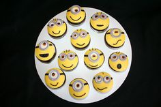 Minion Cupcake Topper Handmade Edible By SweetCakeTopper On Etsy