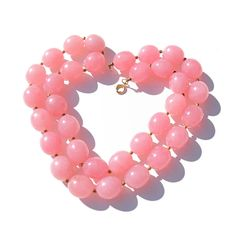 Vintage Lucite Necklace or Plastic Beaded Necklace by malibloom, $15.00