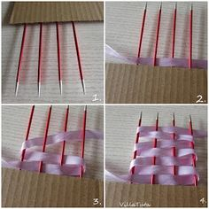 Rusetin teko-ohje How To Make Bows, Clothes Hanger, Diy And Crafts, Crochet, Christmas, Manualidades, Coat Hanger, Xmas, Clothes Hangers
