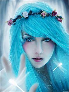 Blue Hair Anime