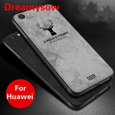Slim Christmas Deer Cloth Phone Case For Huawei Mothers Day Presents, Christmas Deer, Phone Cover, 9 And 10, Best Gifts, Slim, Retro, Clothes, Outfits