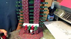Countdown Santa Chimney Pattern (Only Took 2 Years) « Who Are You Calling Crafty?