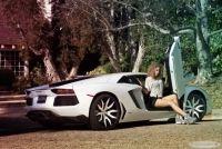 Lamborghini rims show the beauty of