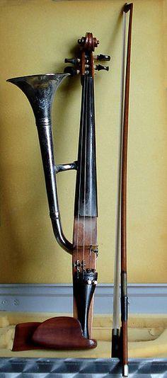 TROMPET-VIOOL - Stroh violin