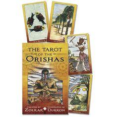 Original Products Botanica - Tarot of The Orishas, $29.95 (http://www.originalbotanica.com/tarot-of-the-orishas/)