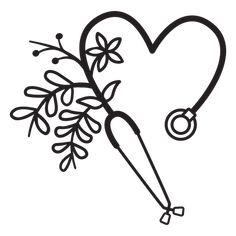 Leaf Symbol, Mo Design, Monogram Decal, Stethoscope, Layout Template, Swirls, Outline, Hair Accessories, Symbols