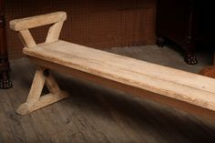 Pair of Benches with X-Base   From a unique collection of antique and modern benches at http://www.1stdibs.com/furniture/seating/benches/