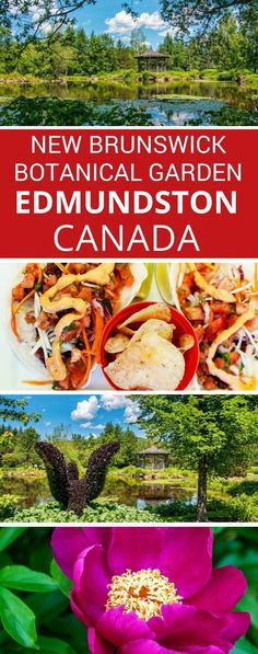 Nature, Art & Food at the New Brunswick Botanical Garden, Edmundston, Canada Beautiful Places To Visit, Cool Places To Visit, Amazing Places, Slow Travel, Travel Tips, Discover Canada, Canada Destinations, Atlantic Canada, Visit Canada