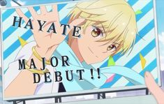 Buddy go Hayate Buddy Go, Anime Boys, Manga, Reading, Fictional Characters, Anime Guys, Sleeve, Word Reading, Manga Comics
